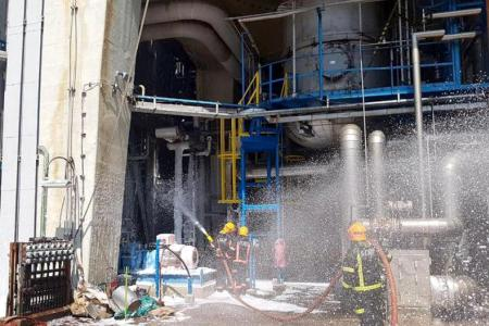 Fire breaks out at Jurong Island refinery, no casualties reported