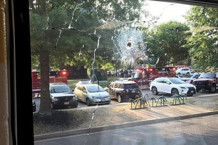 US congressman hurt in gun attack