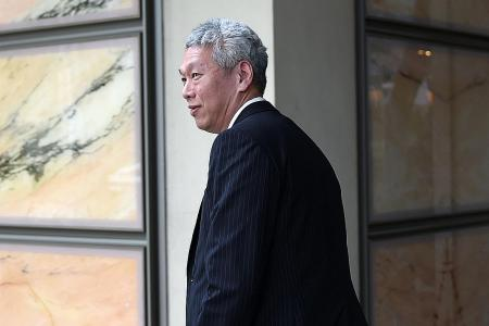 PM's brother set to leave Singapore