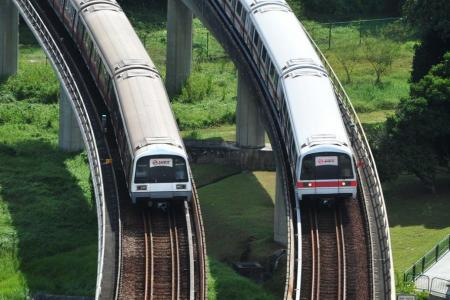 Track circuit fault causes disruption on East-West Line