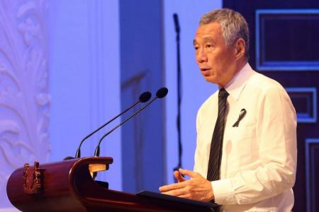 No political ambitions for my son: PM Lee