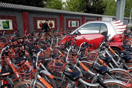 Mobike targets Britain after $830m funding