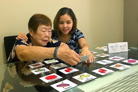 Card game aims to keep elderly happy