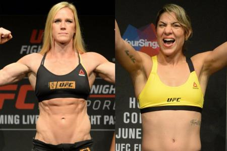 Holly Holm and Bethe Correia