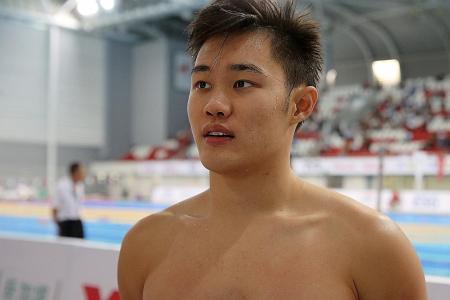 Tzen Wei: I have to swim the perfect race