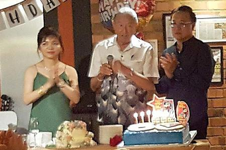 A triple birthday celebration for Joseph and the Teos