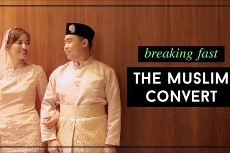 Breaking fast with a Muslim convert