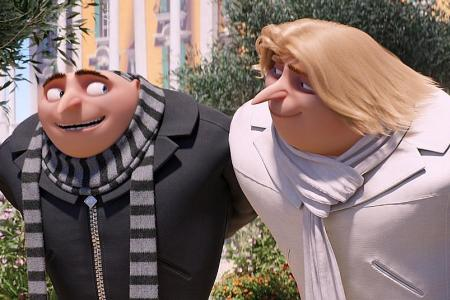 Double trouble in Despicable Me 3