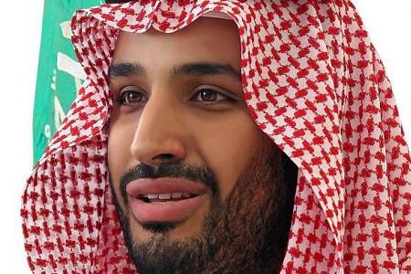 Saudi king makes son heir