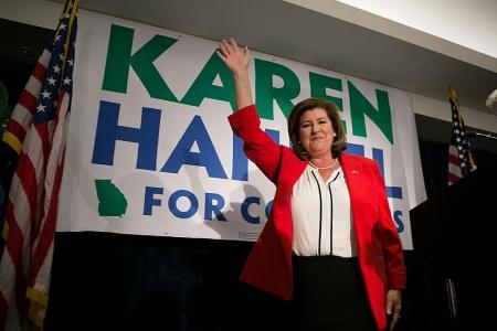Republican wins pricey $79m Georgia race