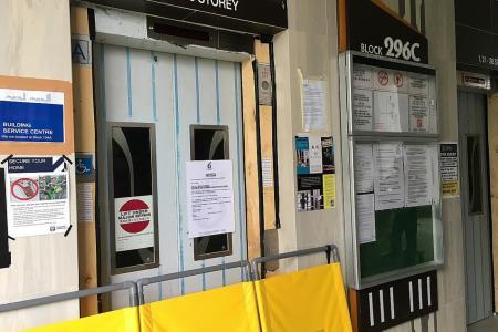 Faulty lifts leave Bukit Batok residents fuming