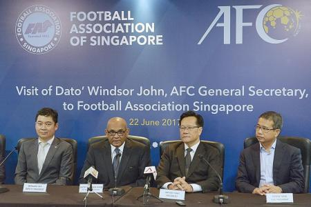 AFC seeks experts to revitalise S.League