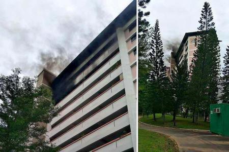 Jurong East block evacuated
