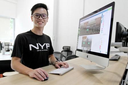 Nanyang Poly student founded his start-up at 15