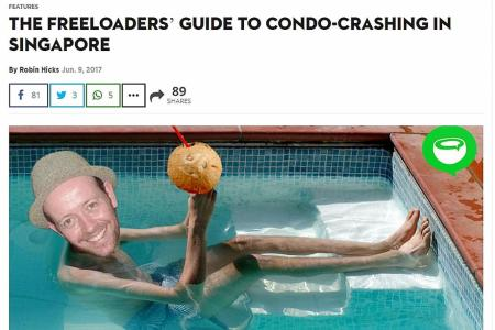 Managements, police warn of 'condo-crashing'
