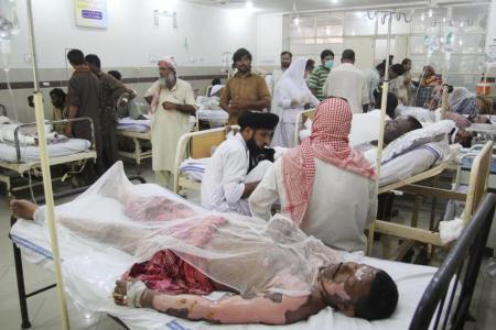 Burn victims overwhelm Pakistan hospitals after tanker blast