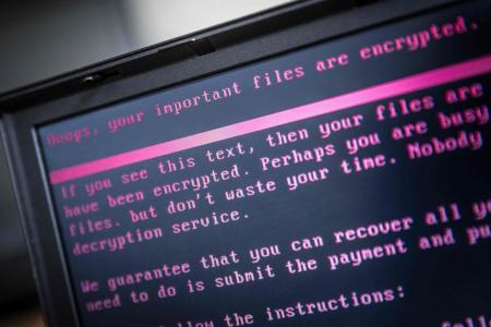 Five frms in Singapore hit by cyber attack virus