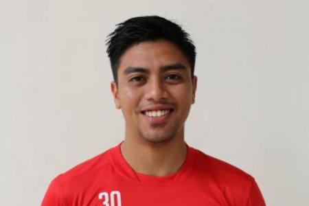 Home's reserve custodian Rudy Khairullah ready to step up