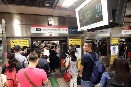 North-South Line hit by major delay