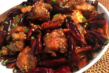 Hed Chef: Sichuan chilli chicken (la zi ji)