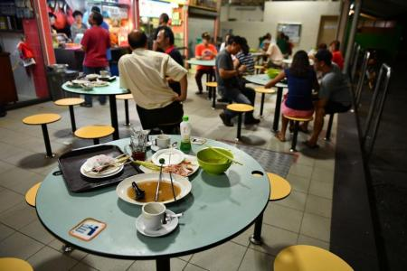 Singaporeans worse at cleaning up after themselves: survey