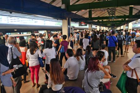 MRT delays frustrate commuters yet again