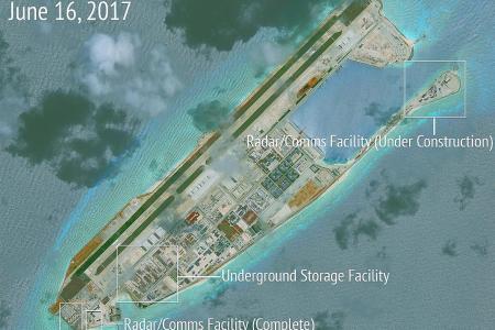 China building new facilities in South China Sea