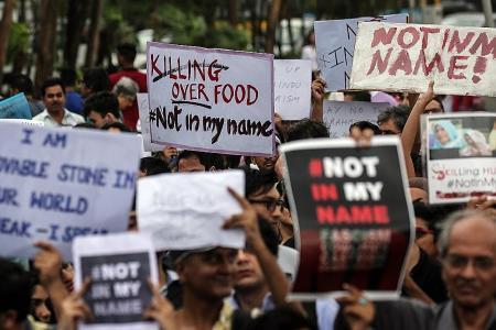 Modi slams cow vigilantes