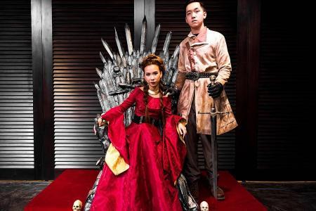 Iron Throne took seven days to make