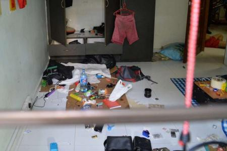 Three men arrested after turning Toa Payoh flat into 'drug house'