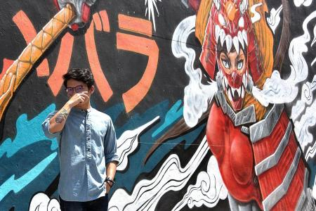 Getting to grips with graffiti