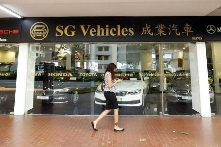 Case flags car importer for second time