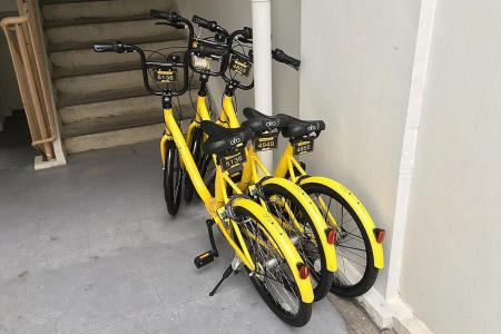 1,000 notices for wrongly-parked bikes