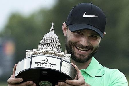 Tearful Kyle Stanley ends five-year drought with play-off win