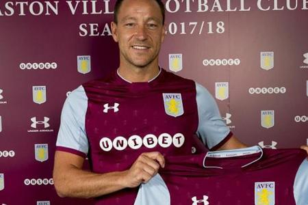 John Terry joins Aston Villa on a one-year deal