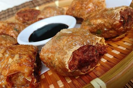 Hed Chef: Yam meat rolls (ngoh hiang)