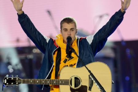 Justin Bieber will play in Singapore