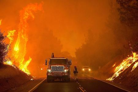 California hit by widespread wildfires amid heatwave