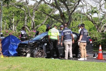 Uber passenger killed in car crash