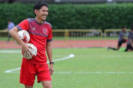 Hougang's Aw targets TNP League Cup glory