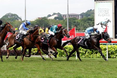 Chairman gives Pike first Kranji winner