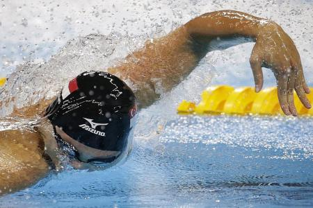 Joseph Schooling: 'I won't let anyone take No. 1 spot away from me'