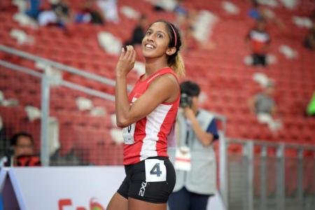 Shanti finishes seventh in 200m final at the Asian Athletics Championships