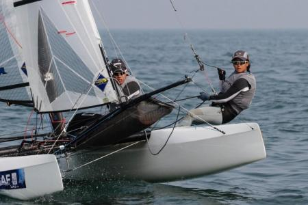 Sailing couple confident of qualifying for Tokyo 2020