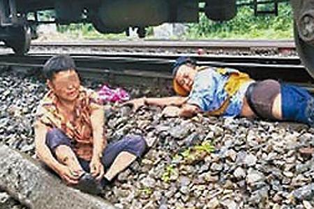 Train conductor loses leg saving elderly woman