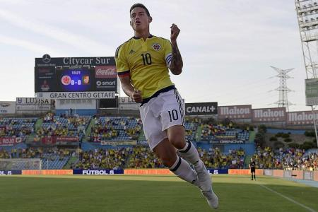 New loan signing Rodriguez to feature for Bayern at ICC