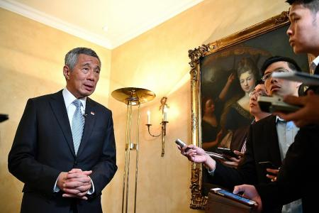 PM Lee: We are not at odds with China