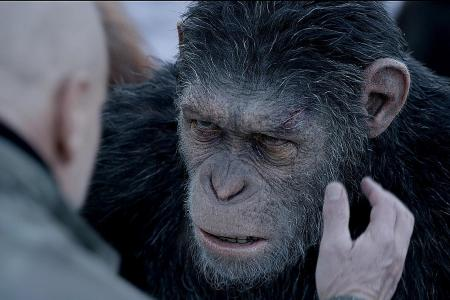 'We wanted him to be an ape Moses'