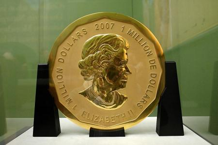 Arrests made over stolen coin worth $5.5m
