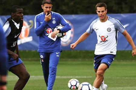 Azpilicueta unfazed about Ruediger's arrival